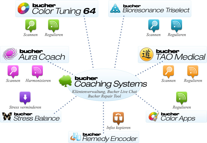 Bucher Coaching Systems Schaubild